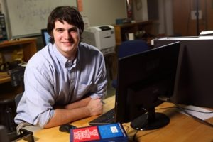 Mercer University student Zechariah Rice was a Goldwater Scholar for the 2015-2016 academic year.