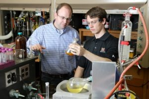 Mercer University graduate Aaron Featherston was a Goldwater Scholar for the 2012-2013 academic year.