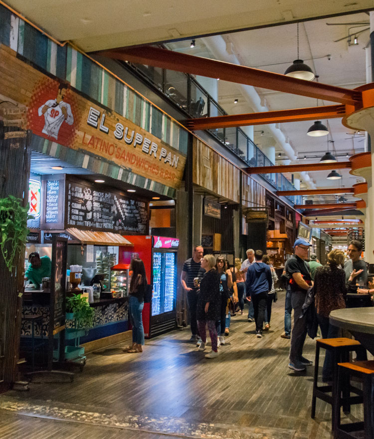 Restaurants in Ponce City Market