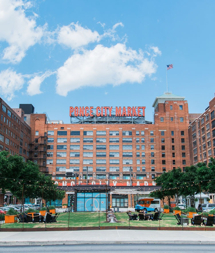 Exterior shot of Ponce City Market