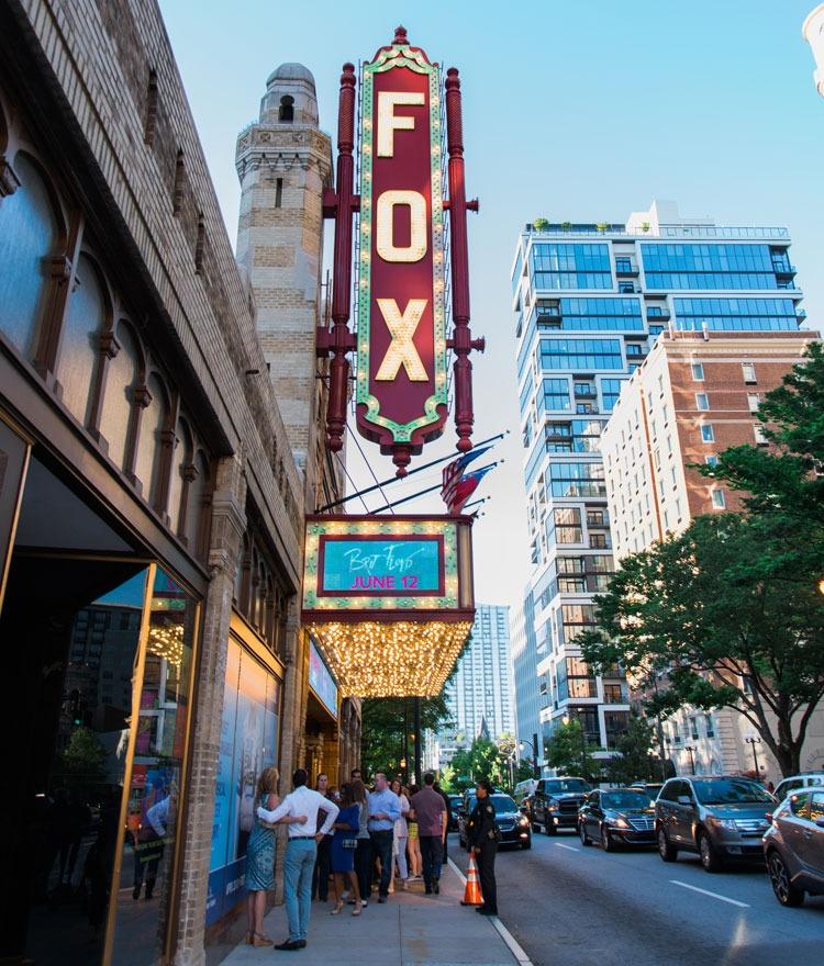 The Fox Theater in Atlanta