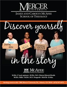 Sample of a Theology Magazine Cover - Discover Yourself in the Story