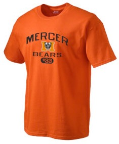 Example of a Mercer-licensed t-shirt