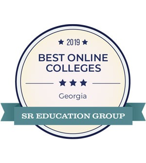 Best Online Colleges badge