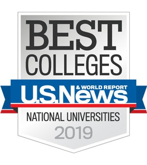 Best Colleges by US News and World Report badge