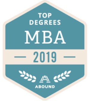 Top Degrees - MBA badge