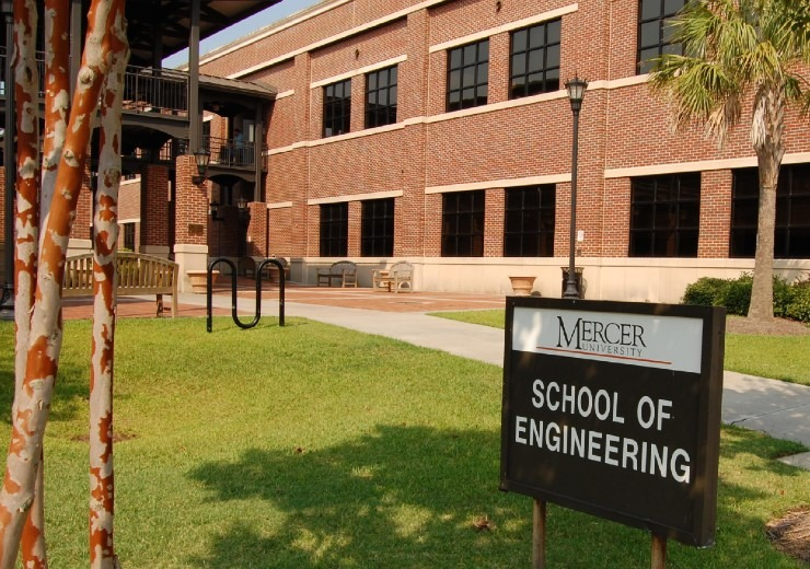 Exterior of the School of Engineering