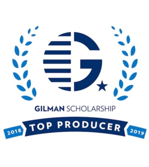 Top Producer of Gilman Scholars